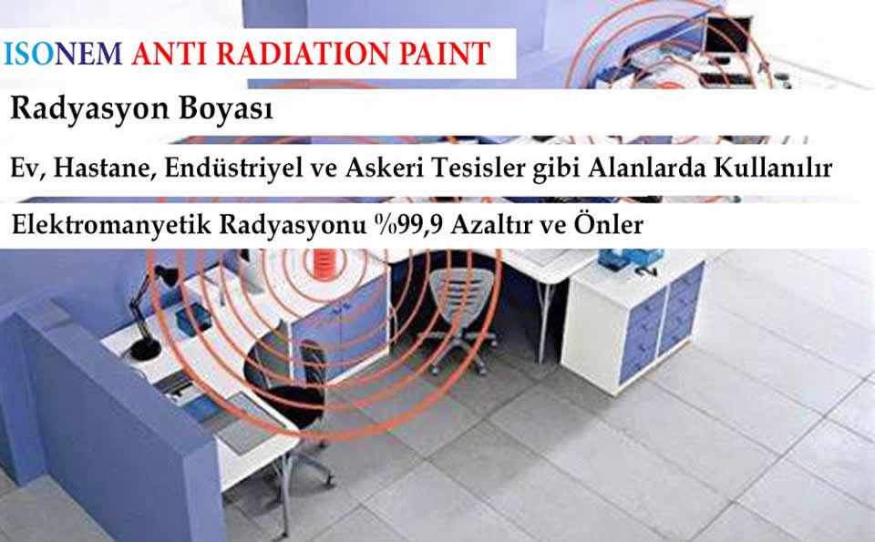 ISONEM ANTİ RADIATION PAINT